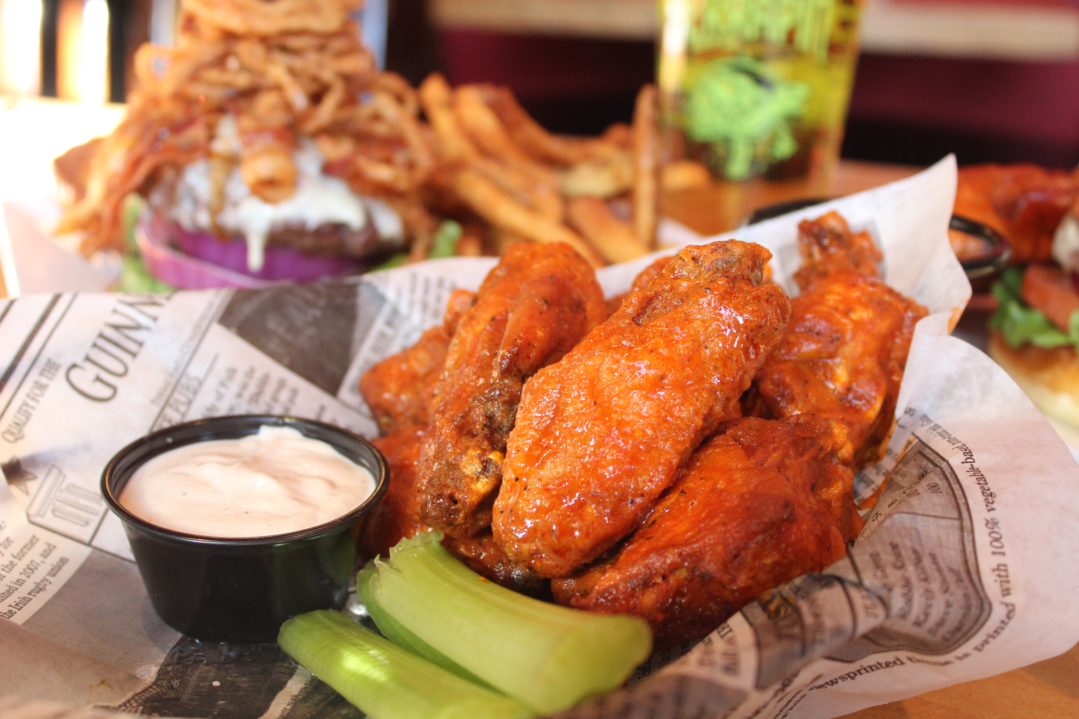 Buffalo Wings Hilltown Roxborough