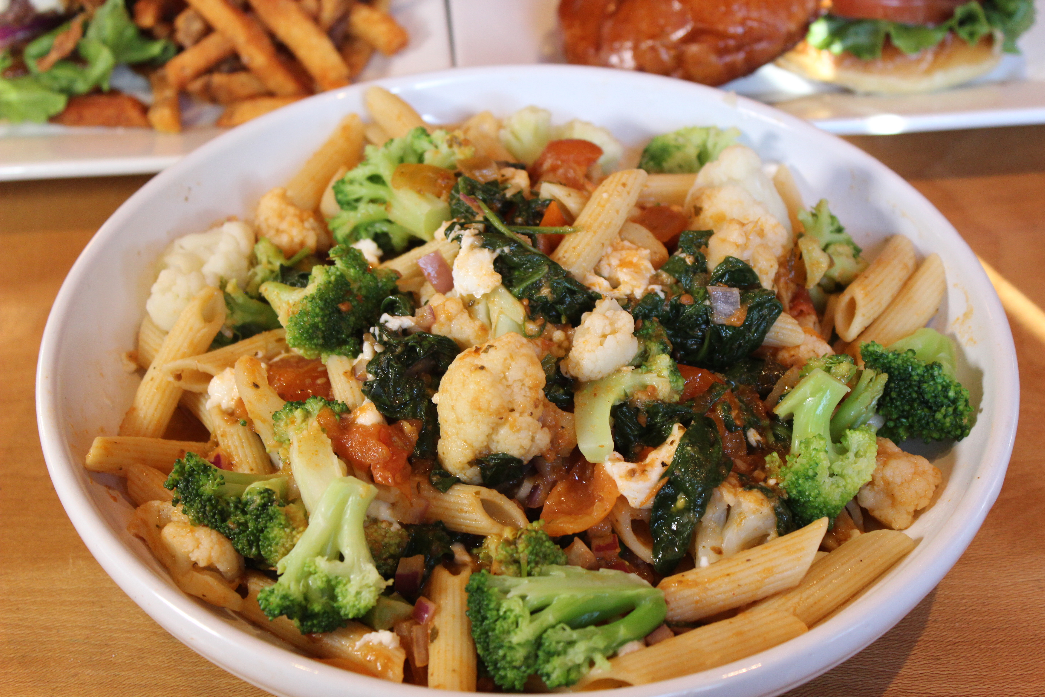 Pasta dish hilltown tavern roxborough bar